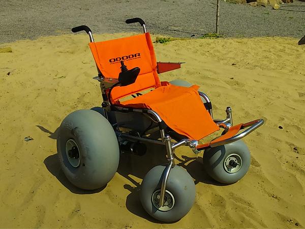 silla de ruedas a motor